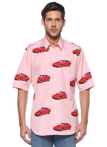 Versace Gömlek Pembe